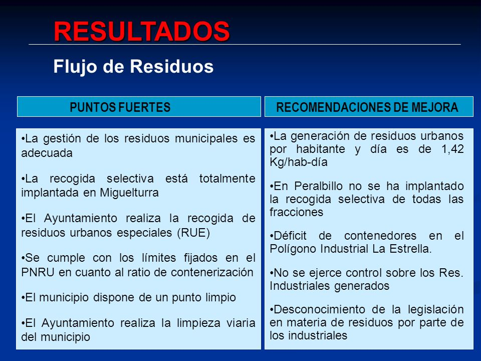 RECOMENDACIONES DE MEJORA