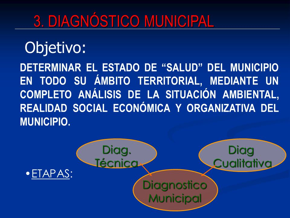 3. DIAGNÓSTICO MUNICIPAL