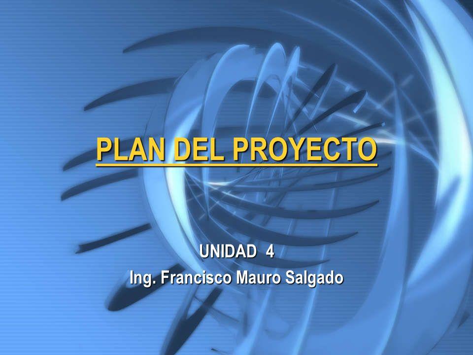 UNIDAD 4 Ing. Francisco Mauro Salgado