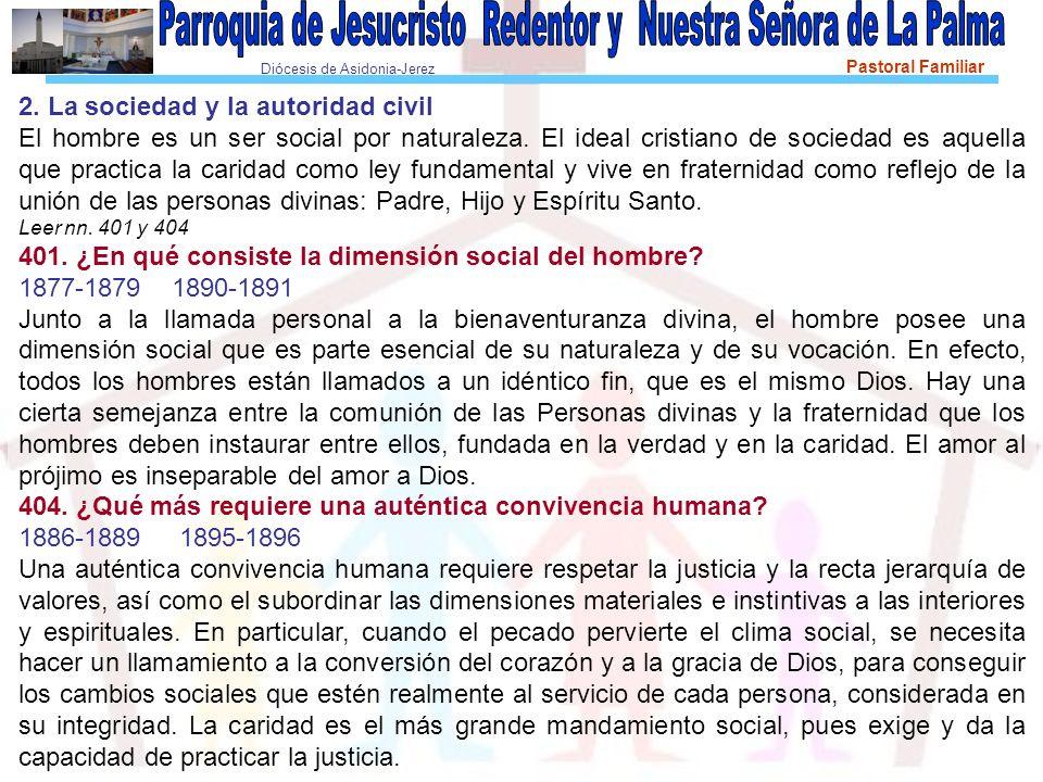 2. La sociedad y la autoridad civil