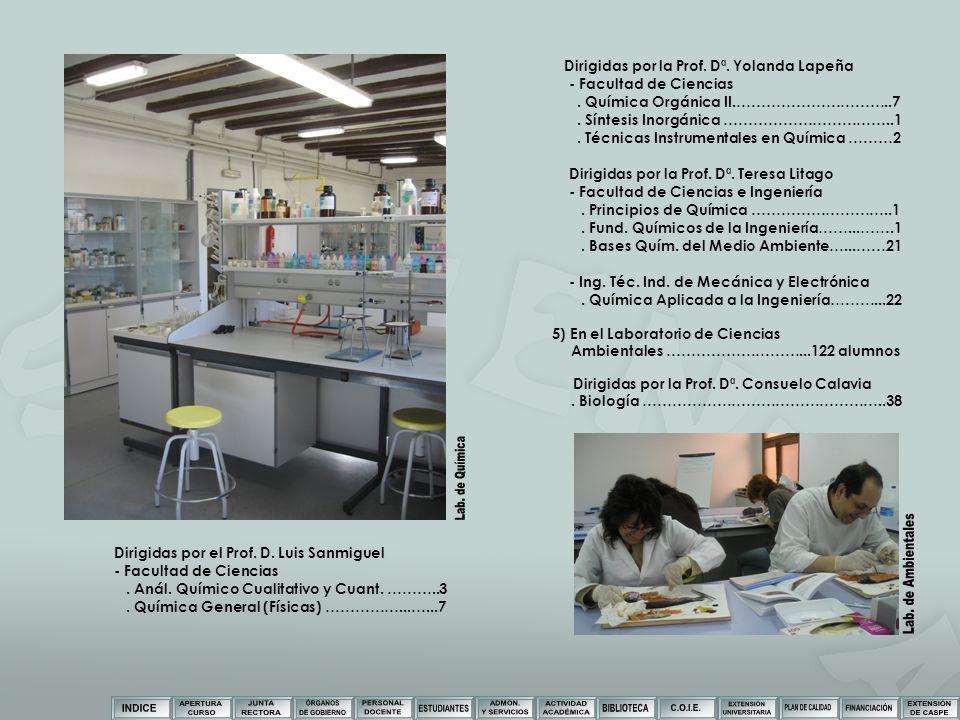 Lab. de Química Lab. de Ambientales