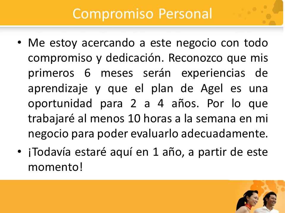 Compromiso Personal