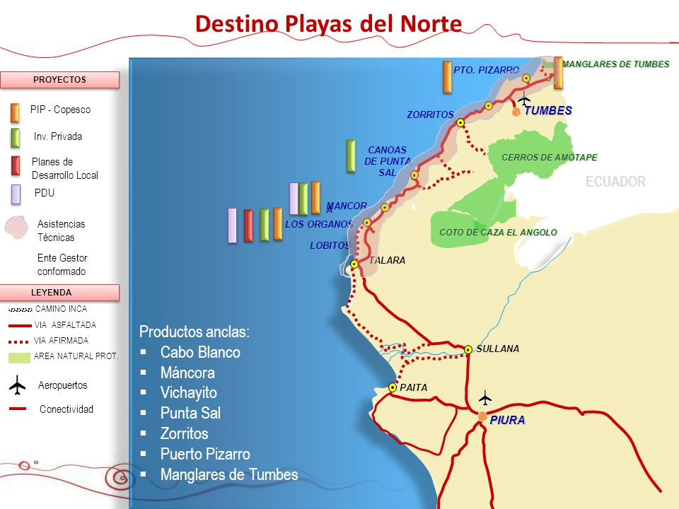 Destino Playas del Norte