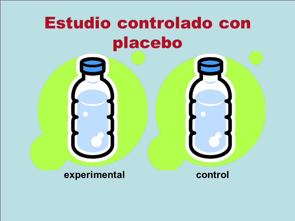 Estudio controlado con placebo