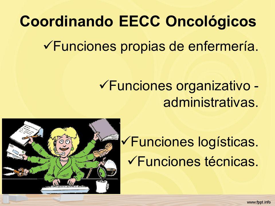 Coordinando EECC Oncológicos