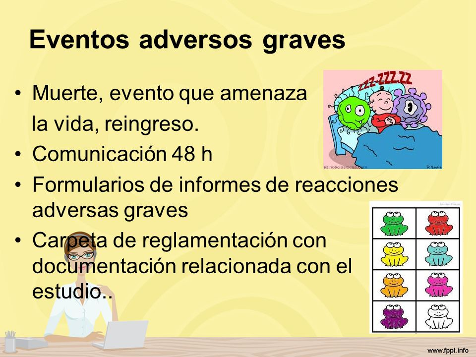 Eventos adversos graves