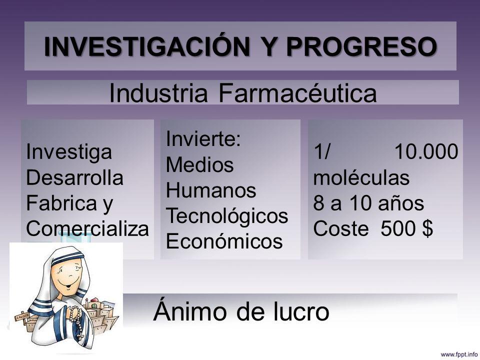 INVESTIGACIÓN Y PROGRESO