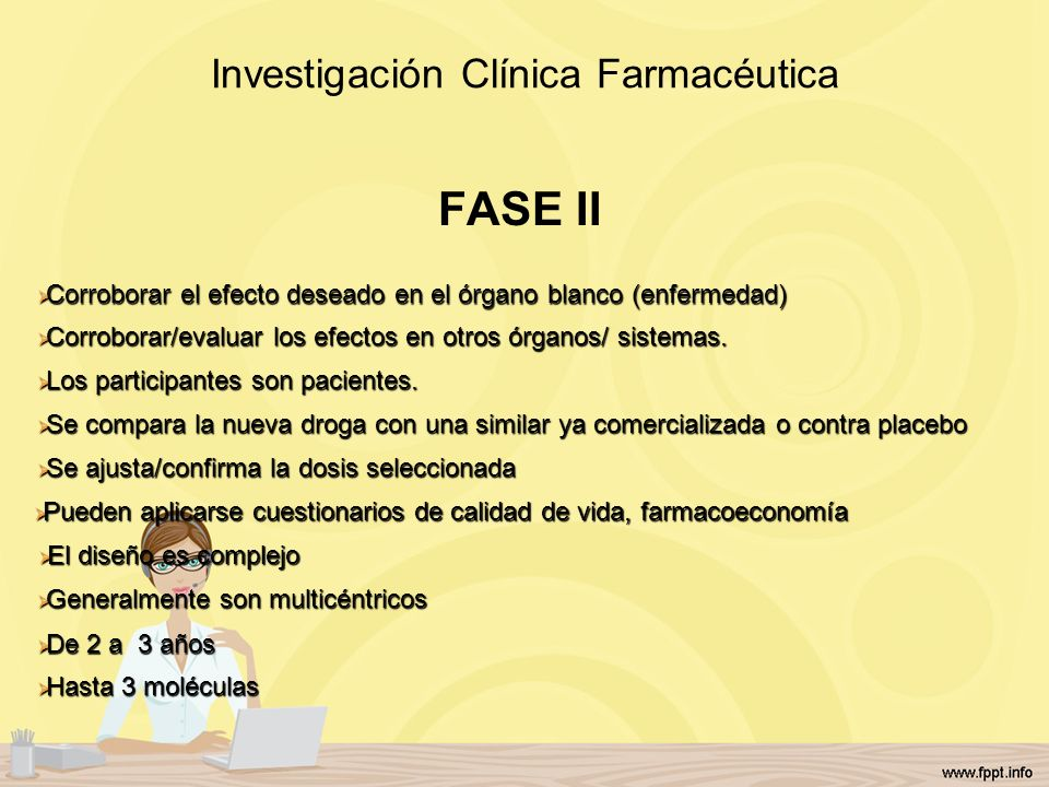 Investigación Clínica Farmacéutica