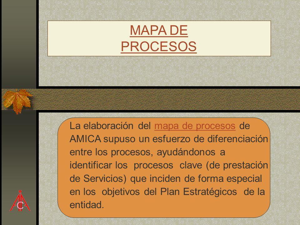 MAPA DE PROCESOS.
