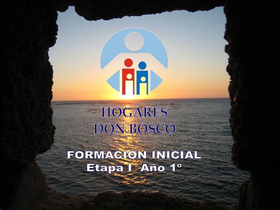 HOGARES DON BOSCO FORMACIÓN INICIAL Etapa I Año 1º