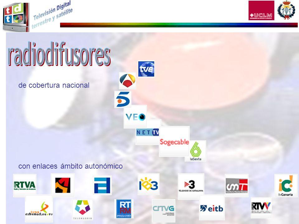 radiodifusores de cobertura nacional con enlaces ámbito autonómico