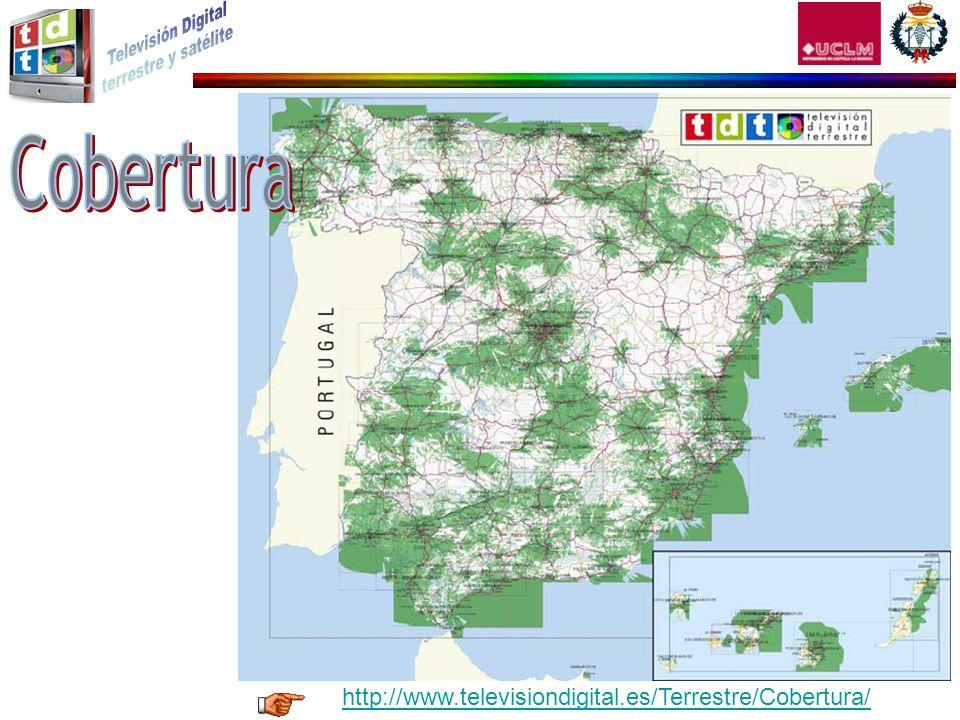 Cobertura http://www.televisiondigital.es/Terrestre/Cobertura/