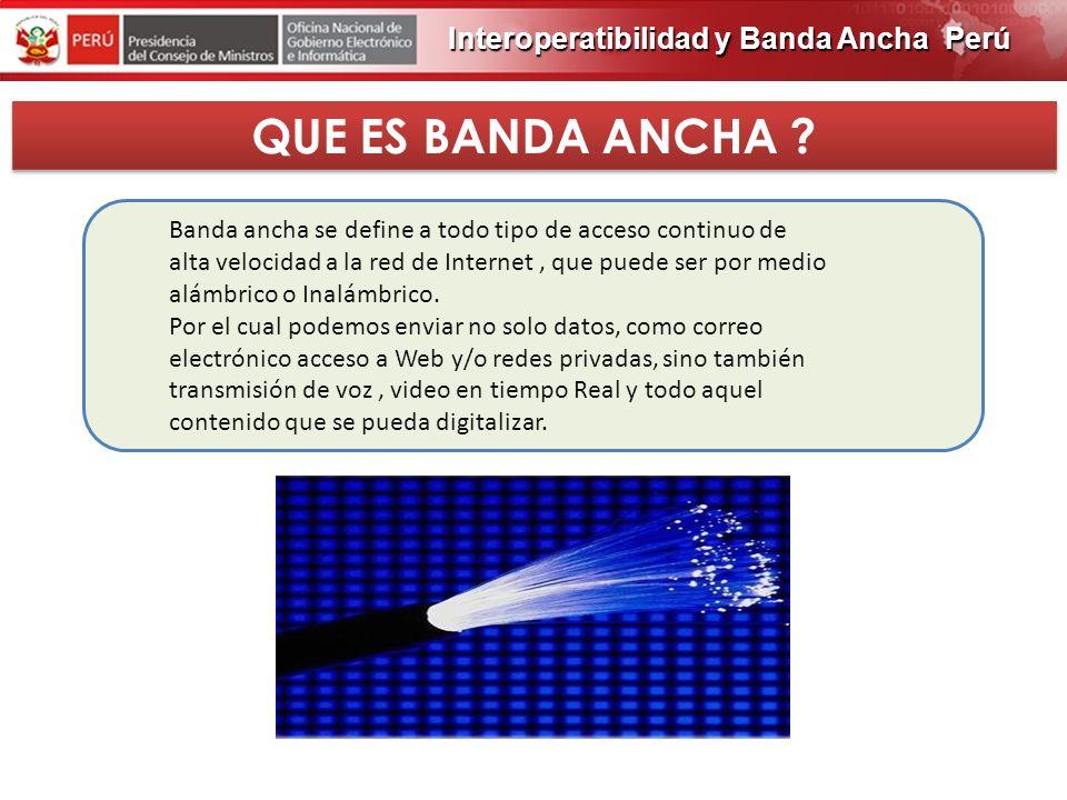 PROGRAMA DE OBRAS 2012 QUE ES BANDA ANCHA