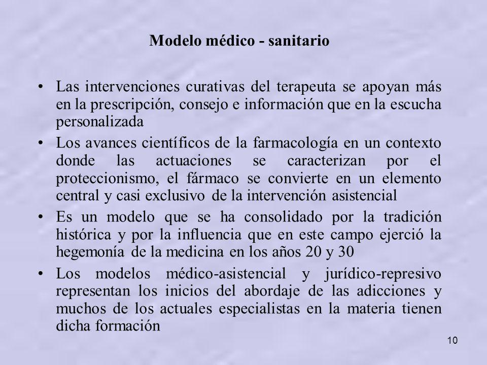 Modelo médico - sanitario