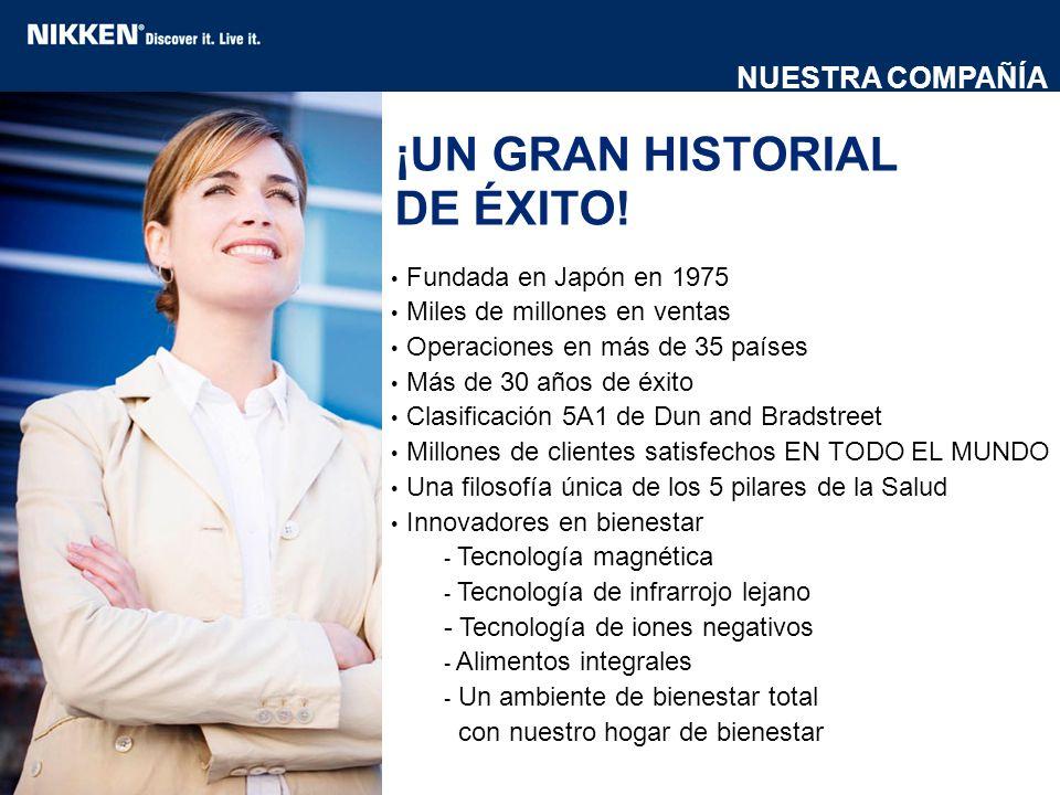 ¡UN GRAN HISTORIAL DE ÉXITO!