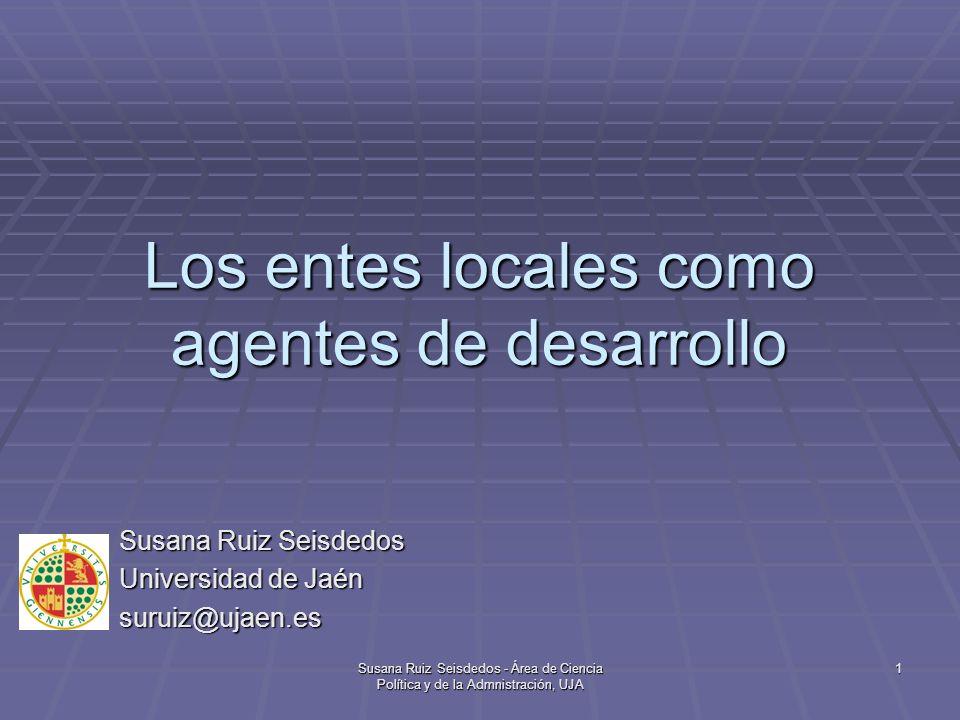 Los entes locales como agentes de desarrollo