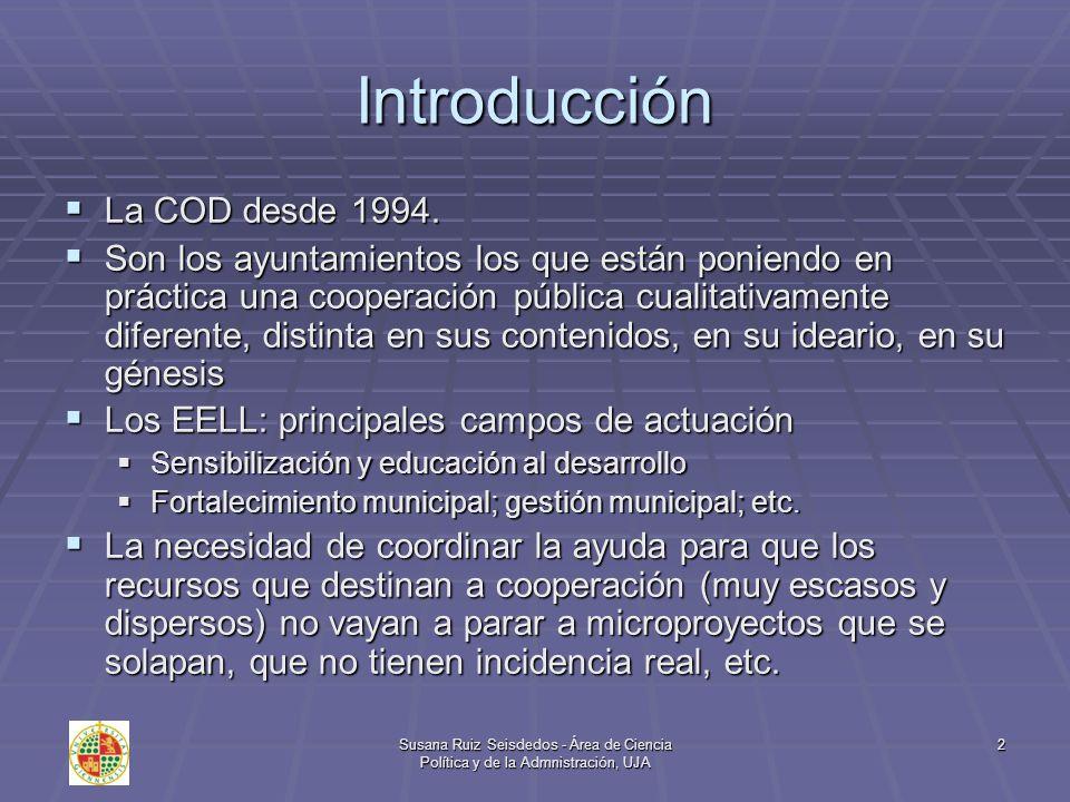 Introducción La COD desde 1994.