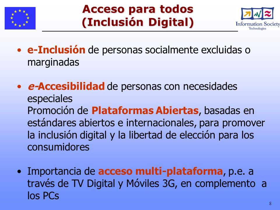 Acceso para todos (Inclusión Digital)