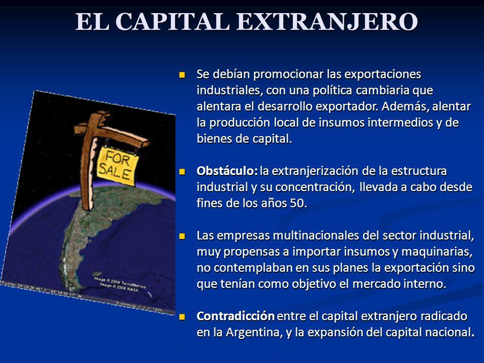 EL CAPITAL EXTRANJERO