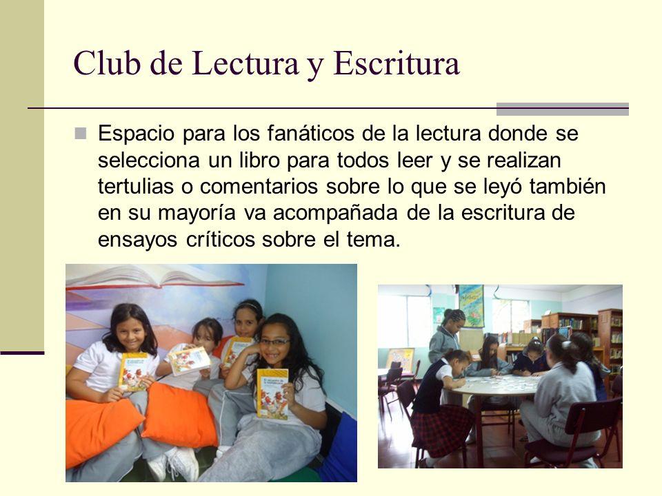 Club de Lectura y Escritura