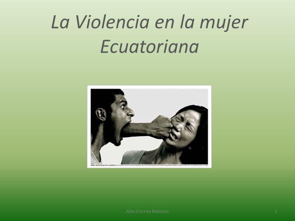 La Violencia en la mujer Ecuatoriana