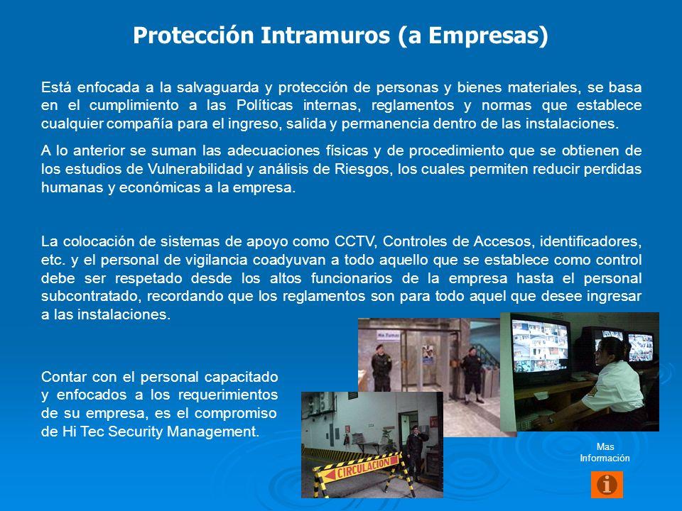 Protección Intramuros (a Empresas)
