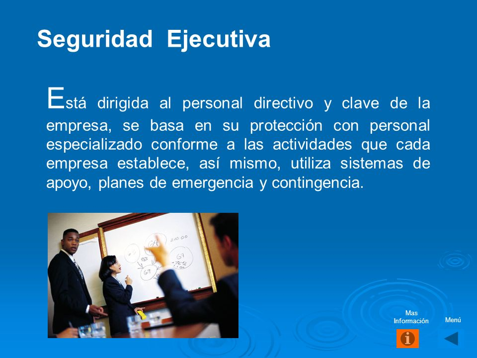 Seguridad Ejecutiva