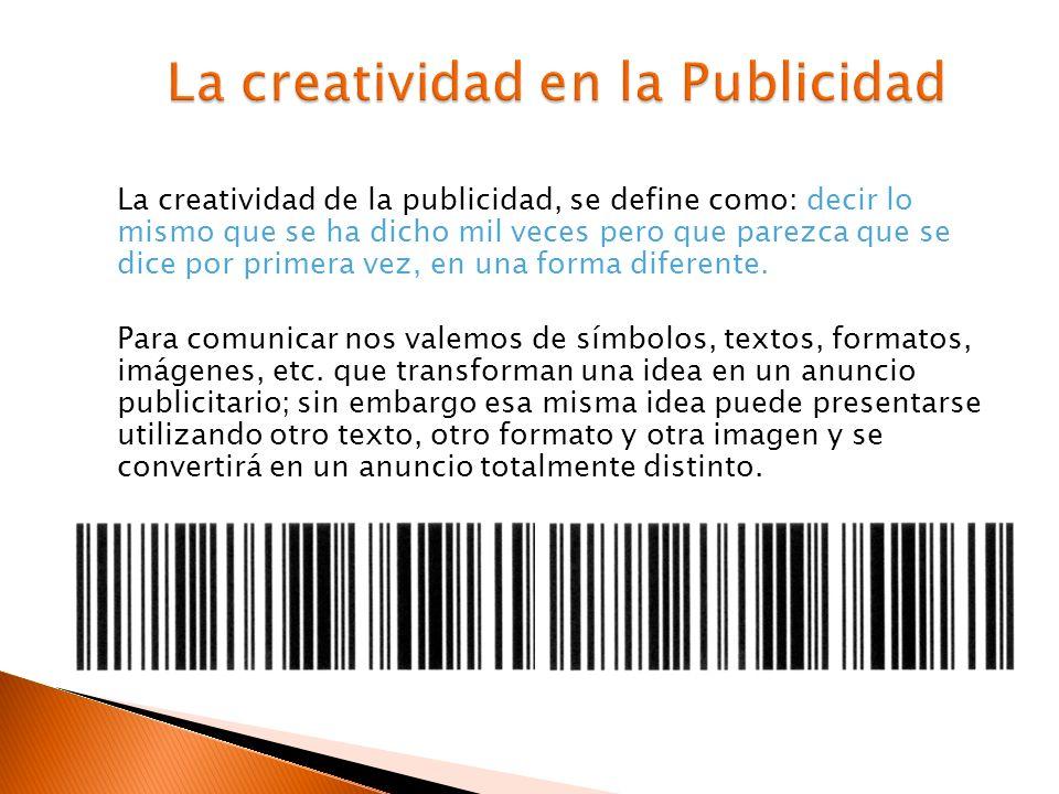 La creatividad en la Publicidad