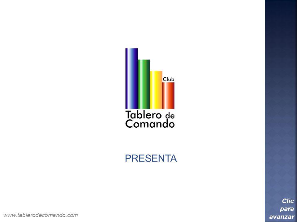 PRESENTA Clic para avanzar www.tablerodecomando.com