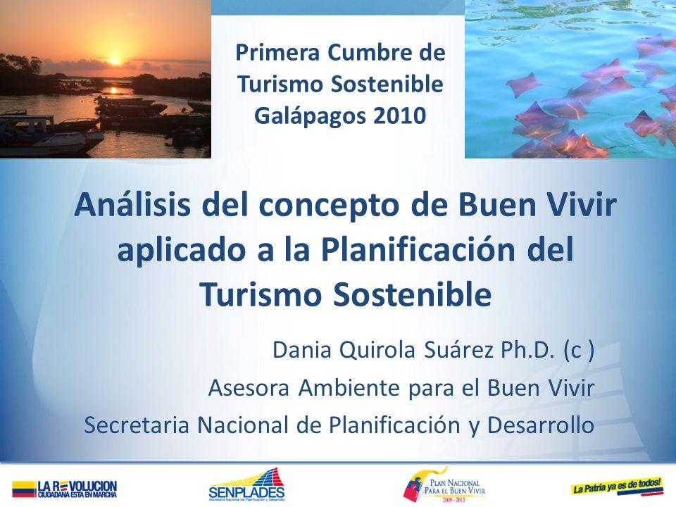 Primera Cumbre de Turismo Sostenible