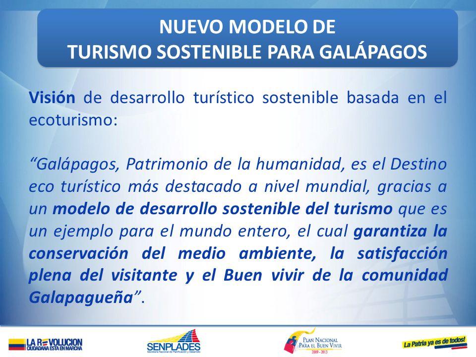 TURISMO SOSTENIBLE PARA GALÁPAGOS