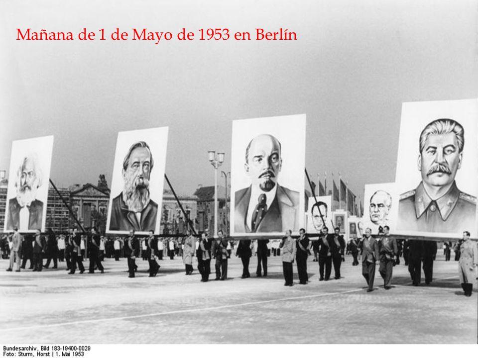 Mañana de 1 de Mayo de 1953 en Berlín