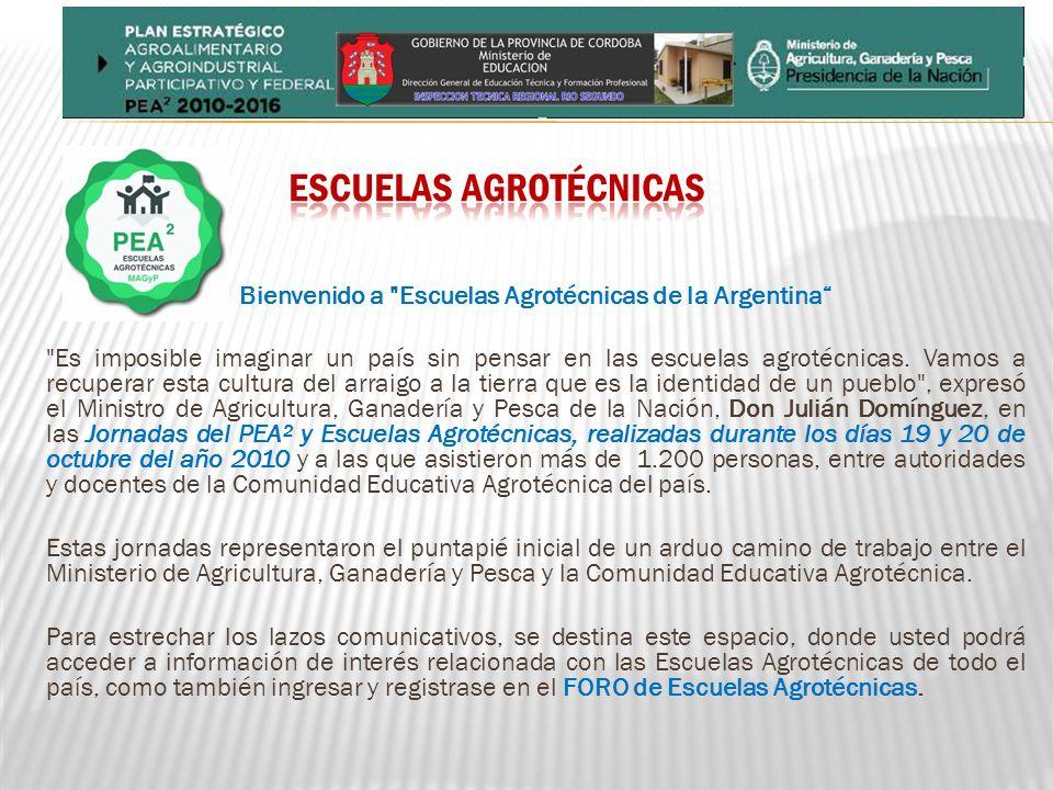 ESCUELAS AGROTÉCNICAS