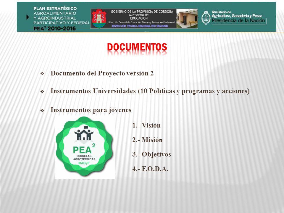 DOCUMENTOS Documento del Proyecto versión 2