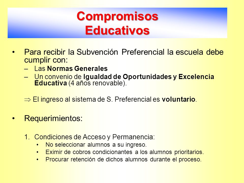 Compromisos Educativos