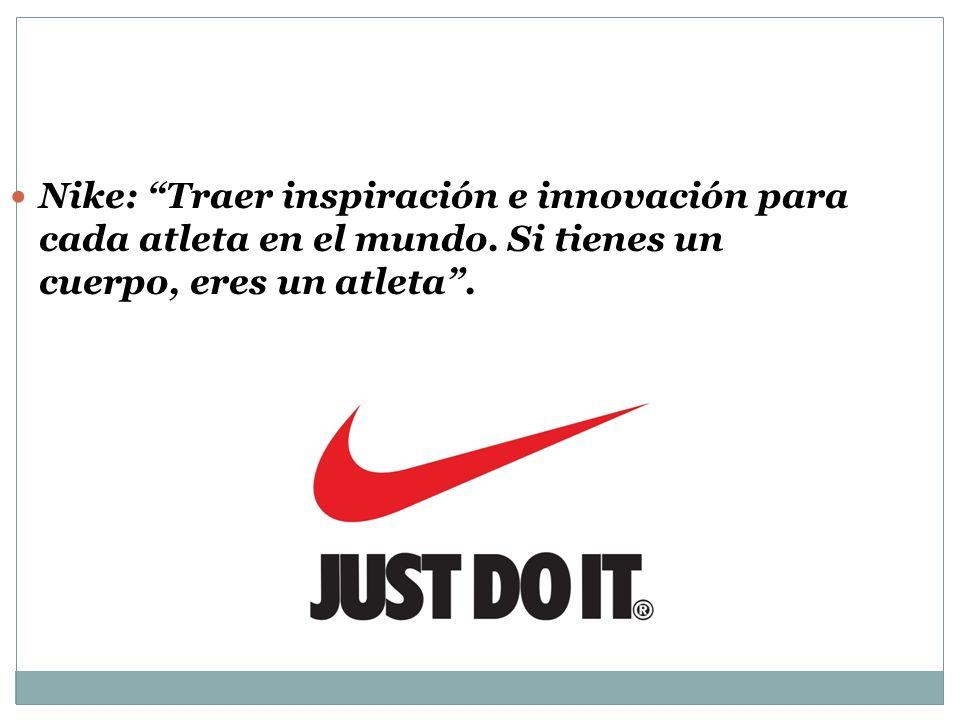 Nike: Traer inspiración e innovación para cada atleta en el mundo