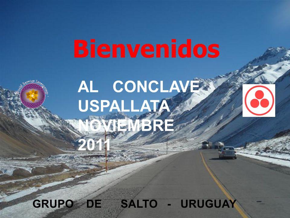 Bienvenidos PLAN DE COMPENSACION AL CONCLAVE USPALLATA NOVIEMBRE 2011