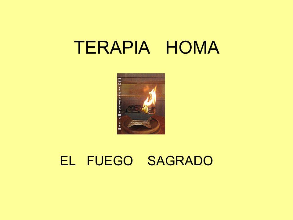 TERAPIA HOMA Parte 2 EL FUEGO SAGRADO