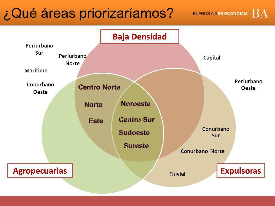 ¿Qué áreas priorizaríamos