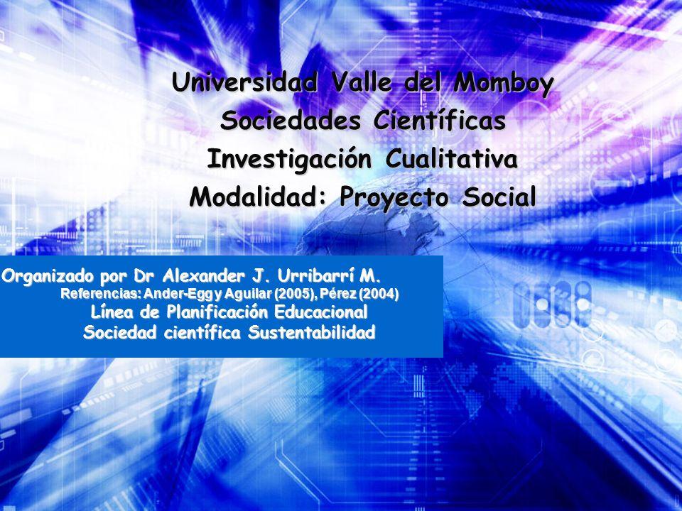 Universidad Valle del Momboy Sociedades Científicas