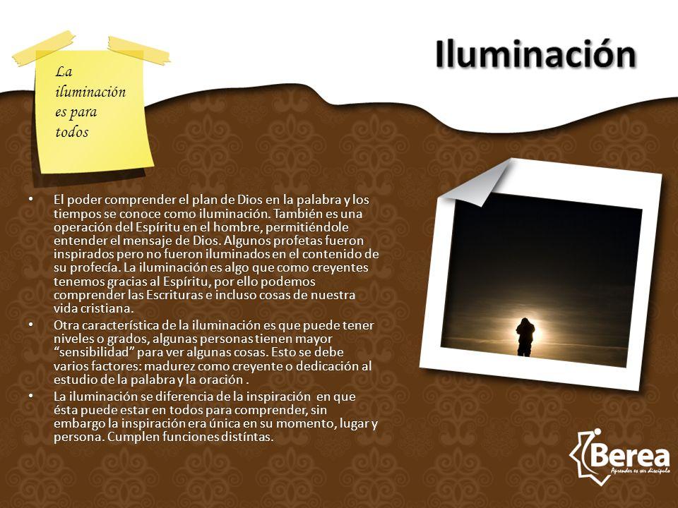 Iluminación La iluminación es para todos