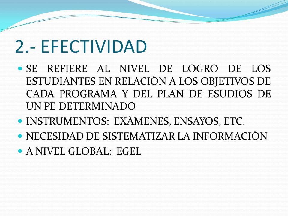 2.- EFECTIVIDAD