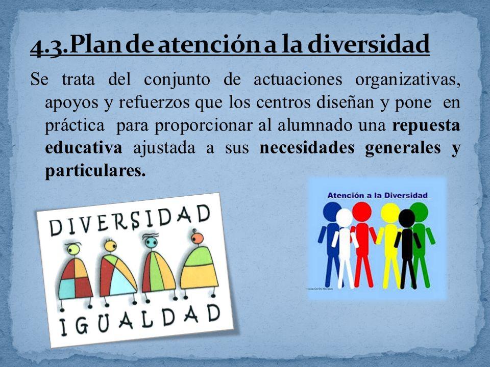 4.3.Plan de atención a la diversidad