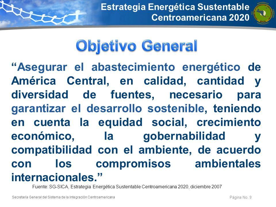 Estrategia Energética Sustentable Centroamericana 2020