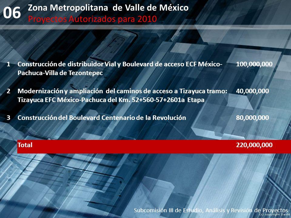 06 Zona Metropolitana de Valle de México