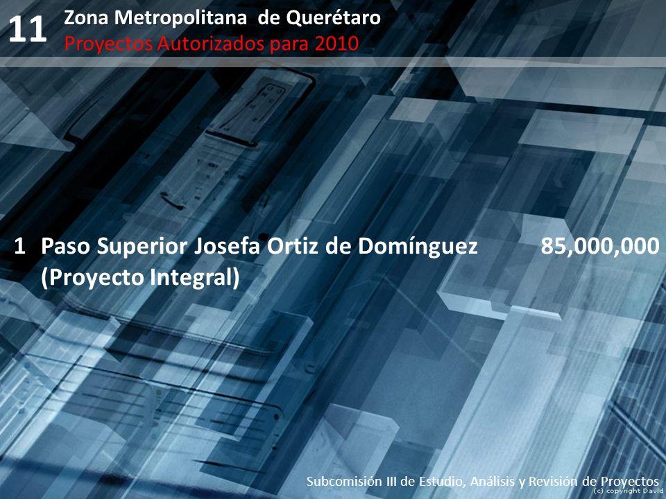 11 1 Paso Superior Josefa Ortiz de Domínguez (Proyecto Integral)