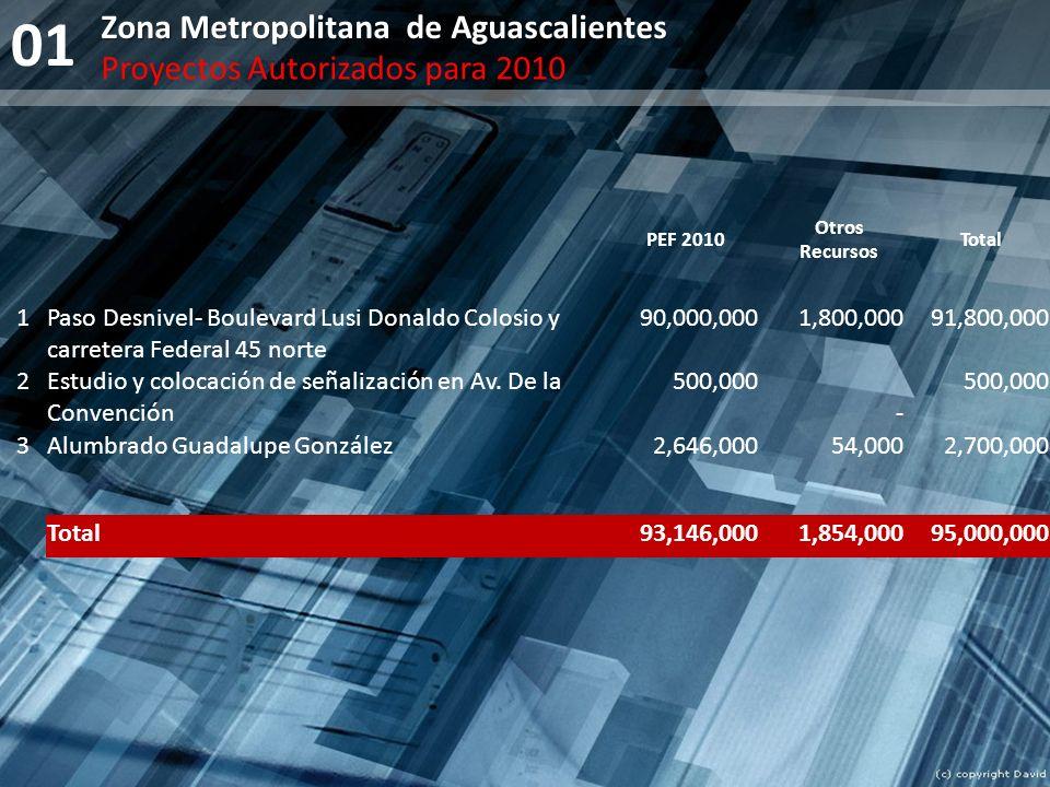 01 Zona Metropolitana de Aguascalientes