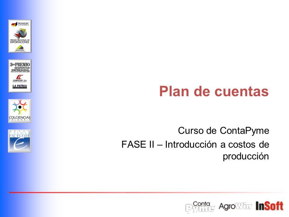Curso de ContaPyme FASE II – Introducción a costos de producción