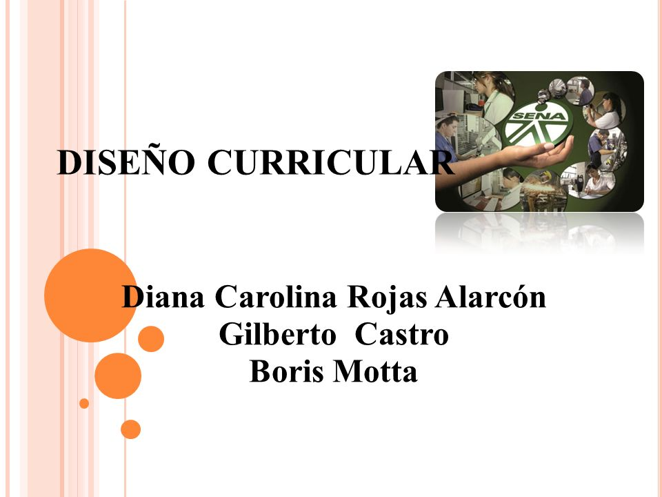 Diana Carolina Rojas Alarcón Gilberto Castro Boris Motta