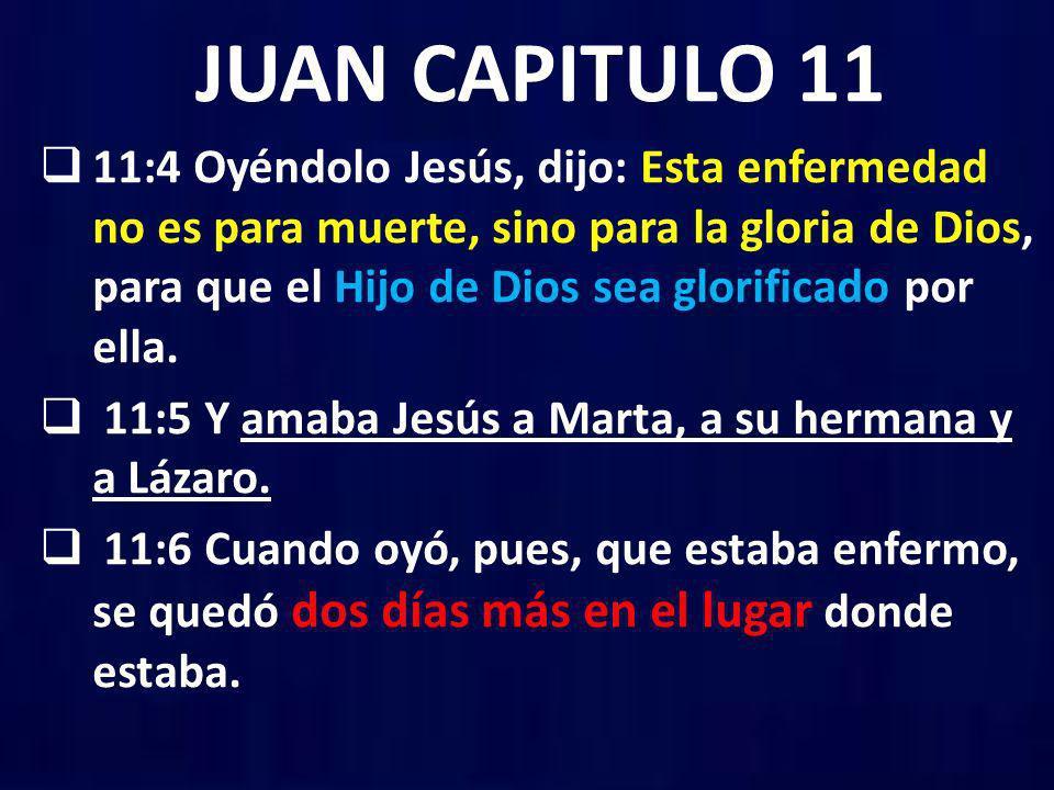 JUAN CAPITULO 11